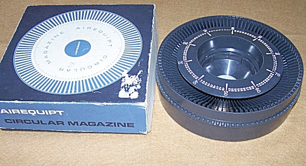 Vintage Airequipt Circular Magazine 35mm Slide Tray (Image1)