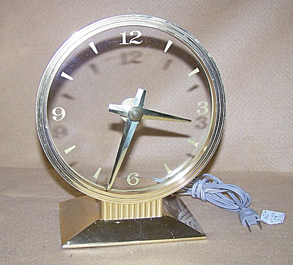 Vintage 1950's Haddon Special Vision Mystery Clock (Image1)