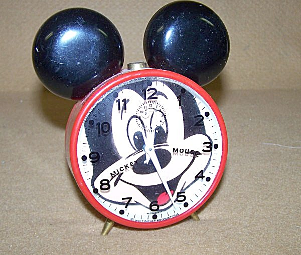 Walt Disney Prod. Mickey Mouse Alarm Clock
