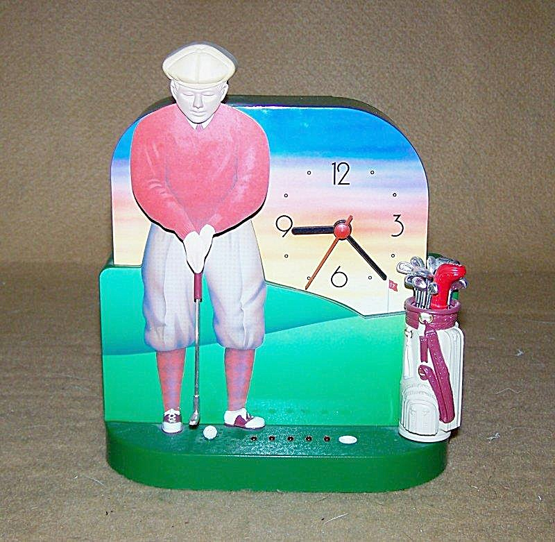 The Original Talking Golf Clock By Fun Damental Too