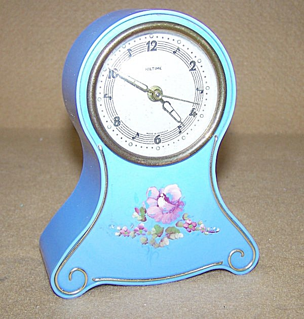 German Alarm Clock W/music Box