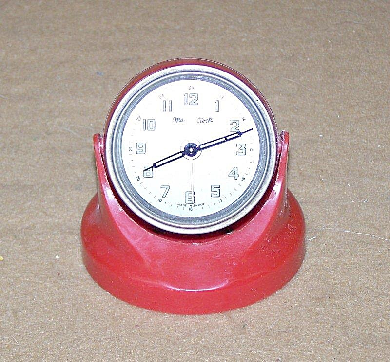 Miniature Magnetic Alarm By Magna Clock