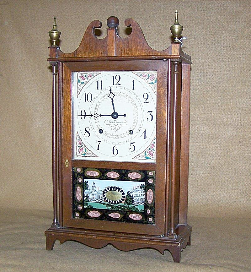 Vintage Seth Thomas Chiming Mantel Clock