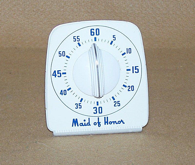 Very Old Mechanical Kitchen Timer 2756