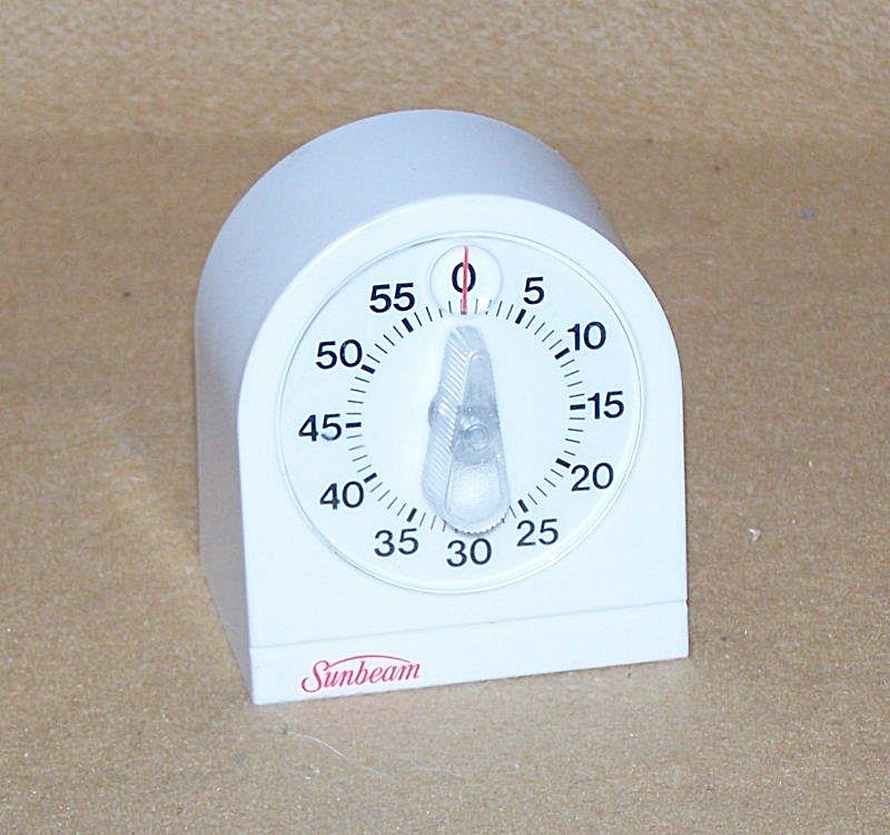 Vintage Sunbeam Kitchen Timer 2757