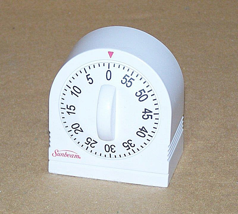 Vintage Sunbeam Kitchen Timer 2758