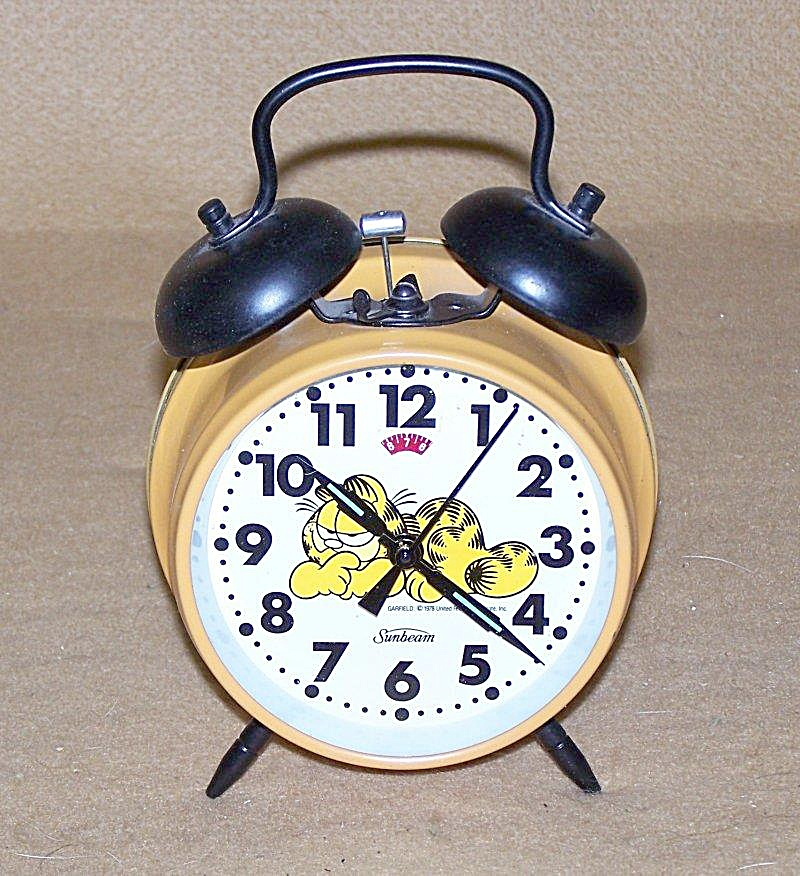 Garfield Mini-twin Bell Alarm Clock