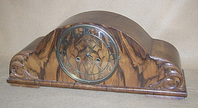 Vintage English Chiming (Bim-bam) Mantel Clock 2792