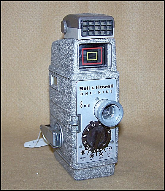 Bell & Howell 8mm Movie Camera Model 19 W/light Meter
