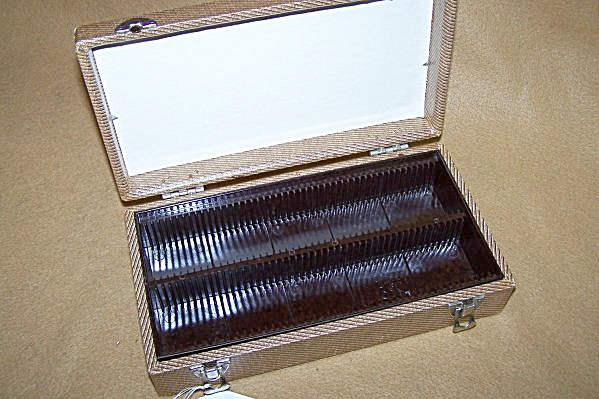Vintage 100 Capacity 35mm Slide Storage Box 7313 (Image1)