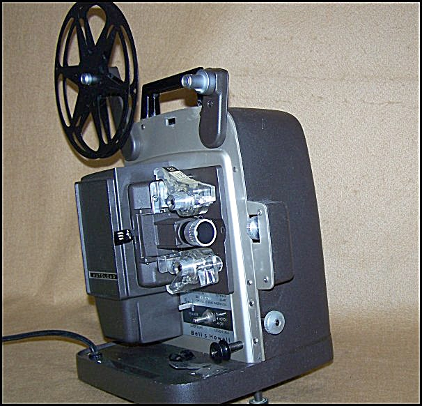 Vintage Bell & Howell #346a Super8 Film Movie Projector