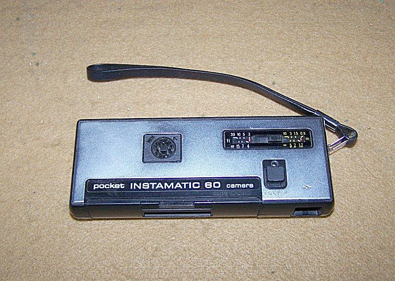 1960's Kodak Instamatic 60 Pocket Camera 7349