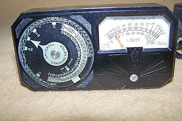 Vintage Weston Photronic Exposure Meter (Image1)