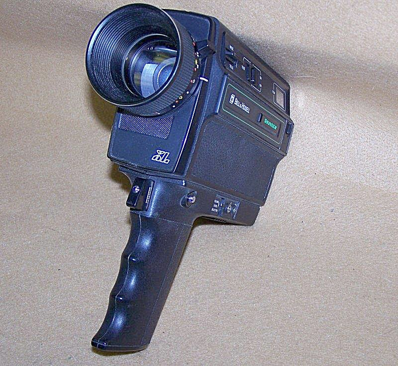Bell & Howell Super 8 Mod 1225 Soundstar Movie Camera