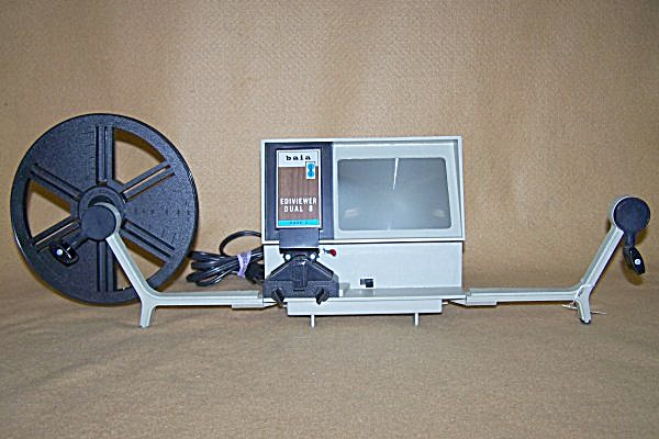 BAIA Dual 8mm Movie Film Editor 7454 (Image1)