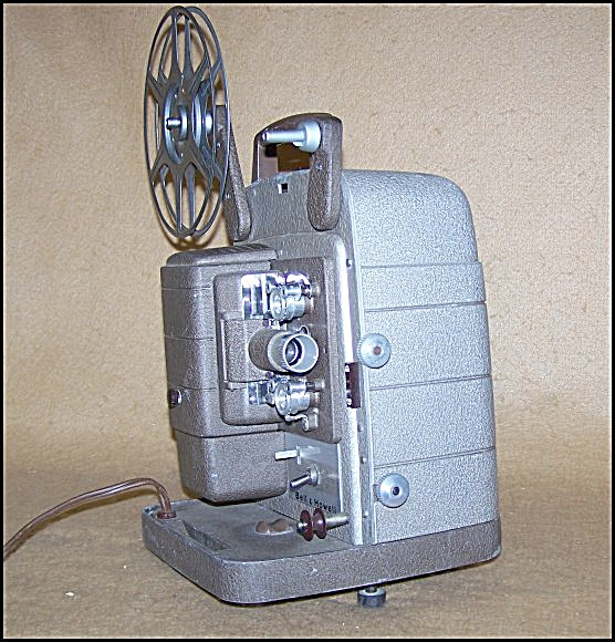 Vintage Bell & Howell 253 Ax 8mm Movie Projector 7488