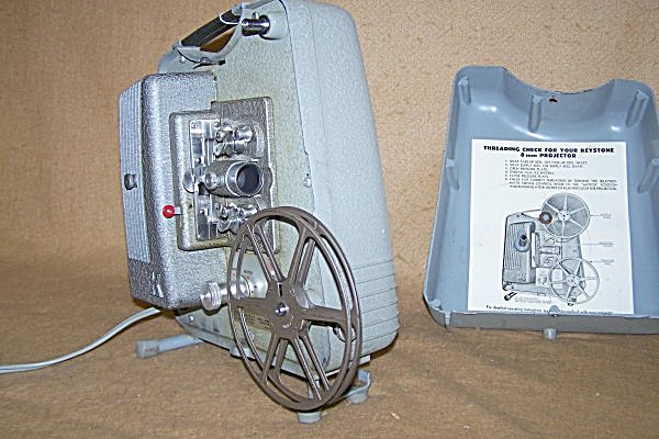 Vintage Keystone Model K75 8mm Movie Projector (Image1)