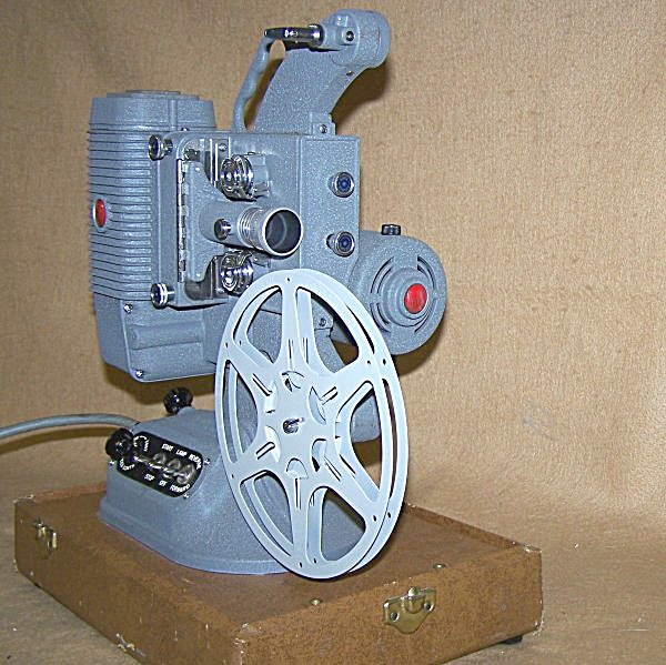 Vintage DeJur 750 8mm Movie Projector 7553 (Image1)
