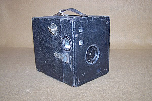 1915 Kewpie No. 3 Black Box Camera 7574