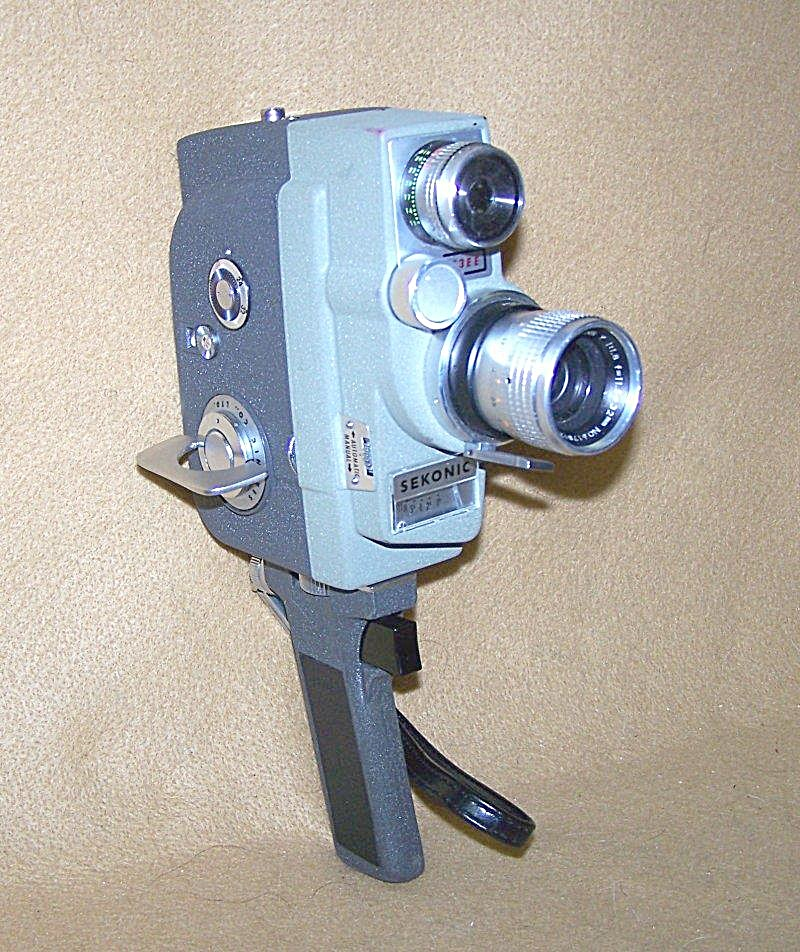 Vintage Sekonic 8mm Micro-eye Movie Camera