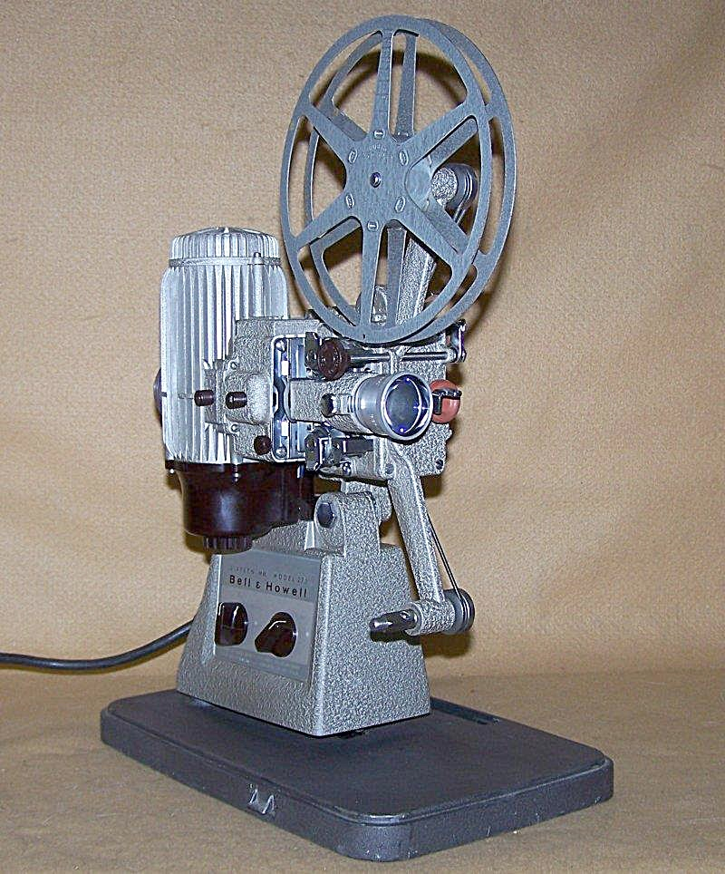 Vintage Bell & Howell16mm Movie Projector Mod 273 (Image1)