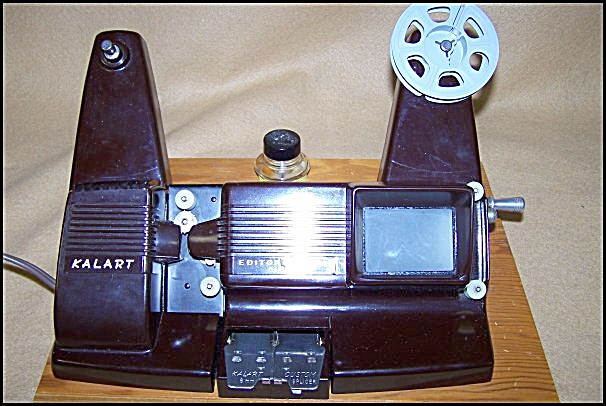 1950's Kalart Bakelite Mod EV-8 8mm Movie Film Editor (Image1)
