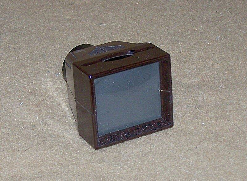 Antique Zadiix Jr Handheld 35mm Bakelite Slide Viewer