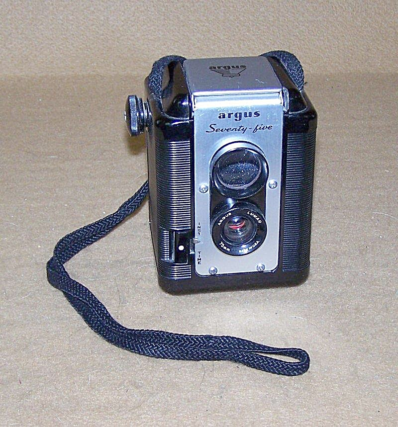 Vintage Argus Model Seventy Five Top View Camera