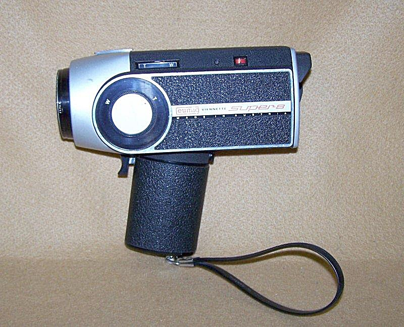 Vintage Eumig Viennette Super 8 Movie Camera