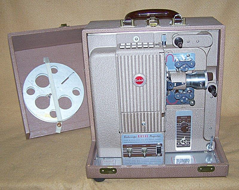Vintage Kodascope Royal 16mm Movie Projector