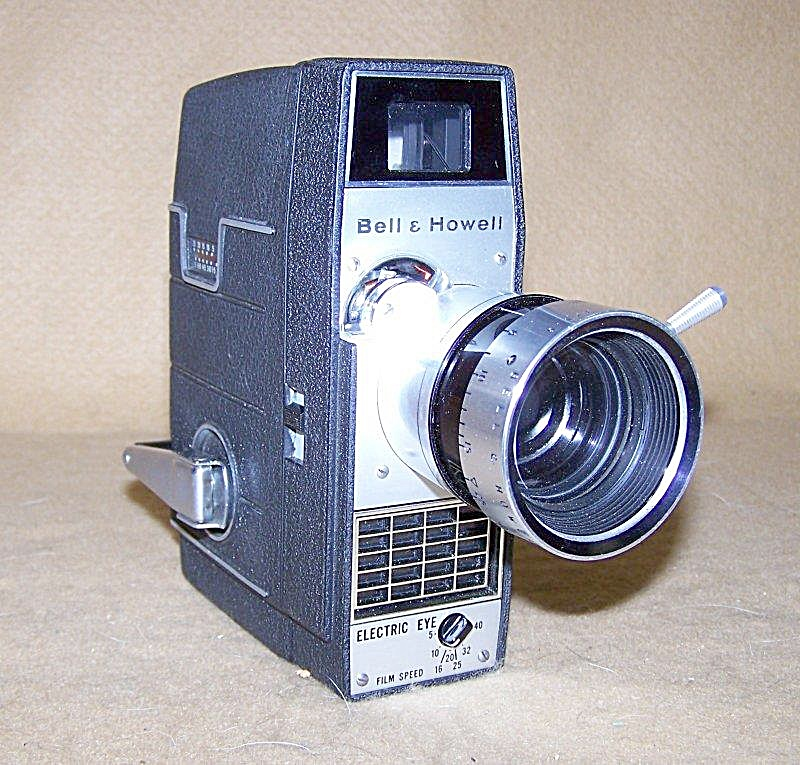 Bell & Howell Zoom Electric Eye 8mm Movie Camera