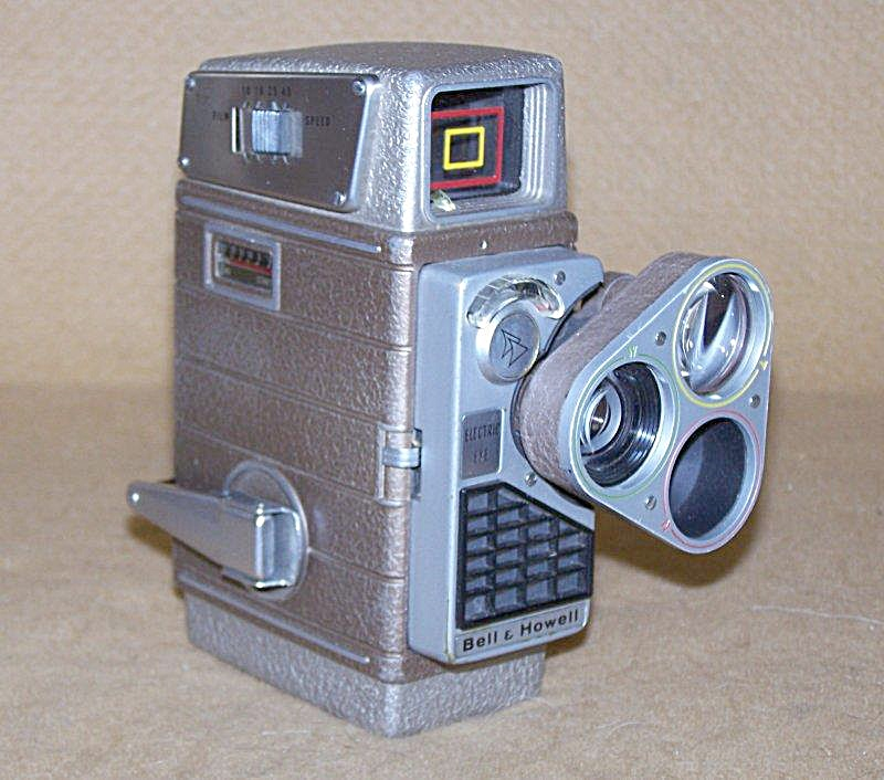 Bell & Howell Perpetua 8mm Movie Camera W/turret Lenses