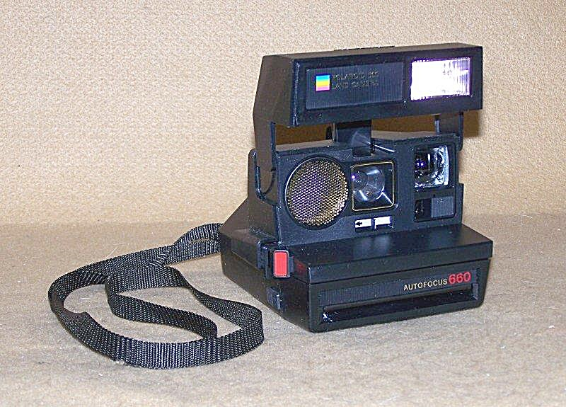 Vintage Polaroid Autofocus 660 Land Camera