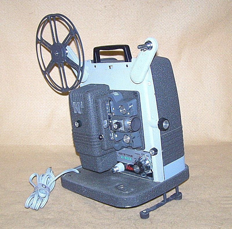 Vintage Keystone Mod K-903 8mm Movie Projector 7596