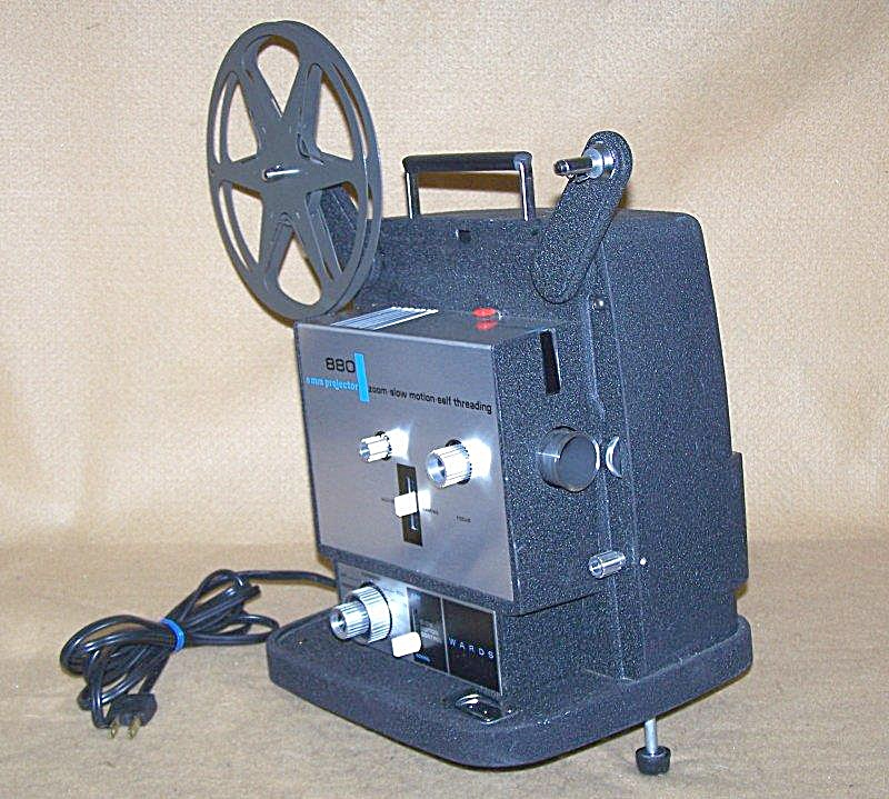 Vintage Wards/keystone Mod 880 8mm Movie Projector 7671