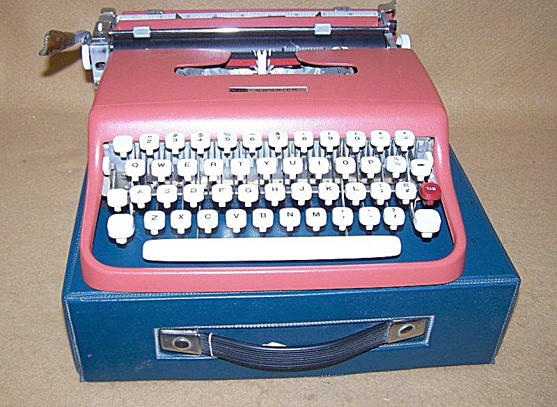 1960's Sears Courier Portable Typewriter 8256