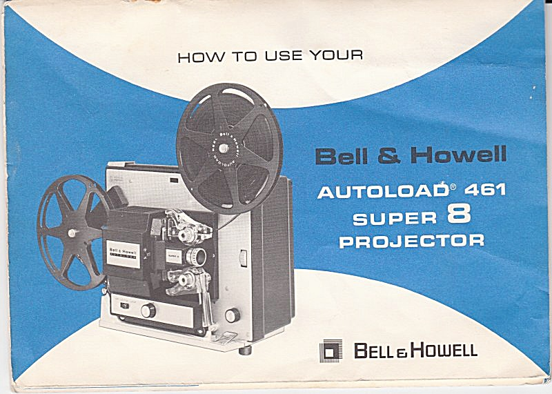 B&h Movie Projector Mod 461 - Downloadable E-manual