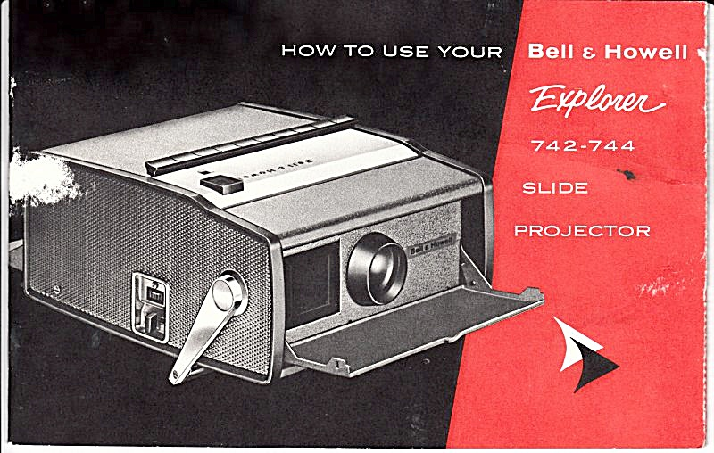 B&h Explorer Slide Projector - Downloadable E-manual