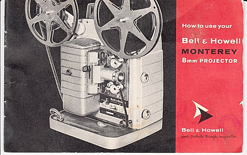 B&h Monterey 8mm Projector - Downloadable E-manual
