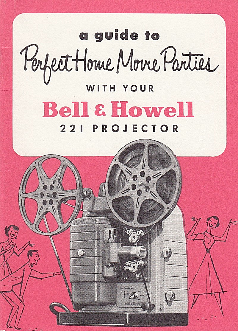 B&h Movie Projector, Model 221 - Downloadable E-manual