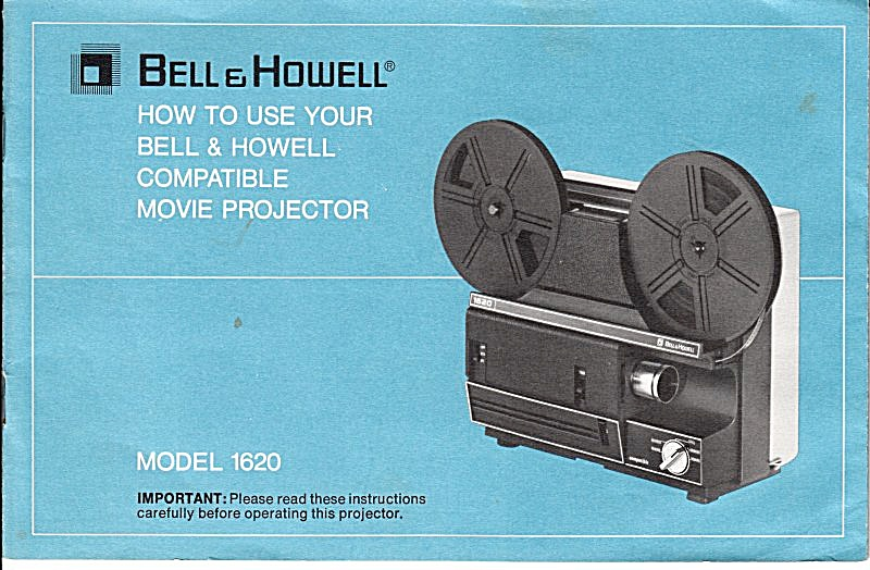 B&h Movie Projector Mod 1620 - Downloadable E-manual