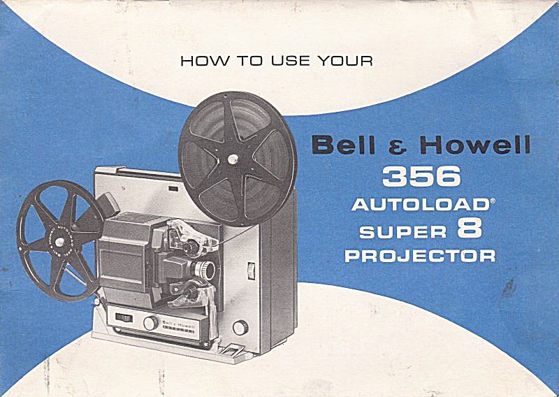 B&h Movie Projector Mod 356 - Downloadable E-manual