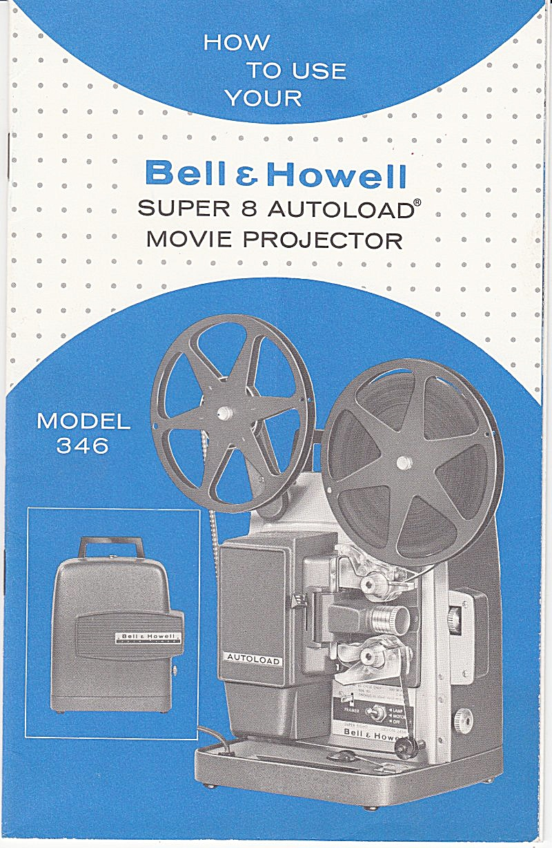 B&h Movie Projector Mod 346 - Downloadable E-manual