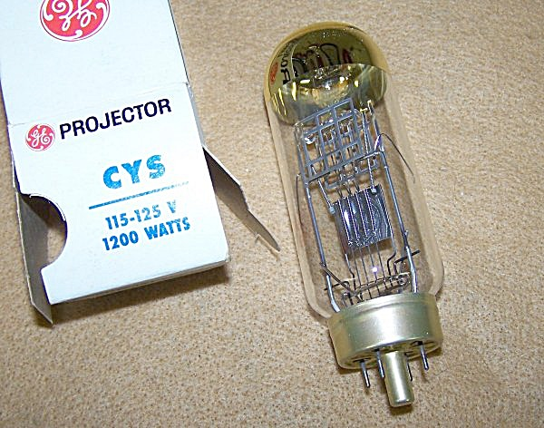 CYS 1200 Watt 120 Volt Projector Bulb Replacement (Image1)