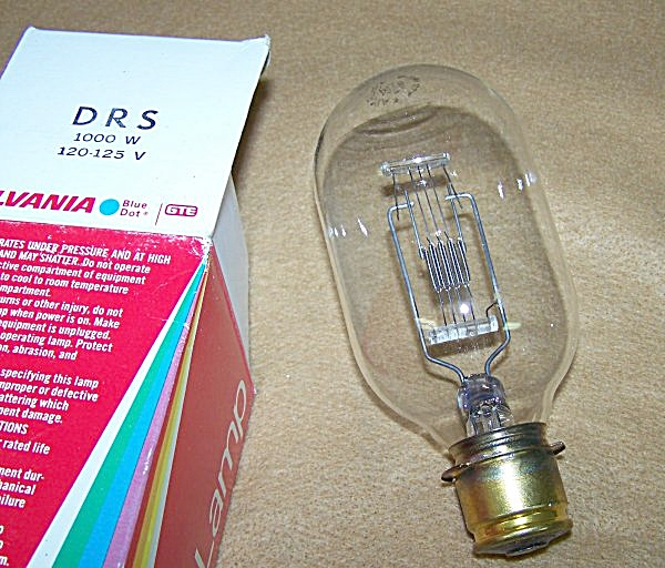 DRS 1000 Watt 120 Volt Projector Bulb Replacement (Image1)