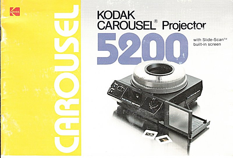 Kodak Carousel 5200 Projector - Downloadable E-manual