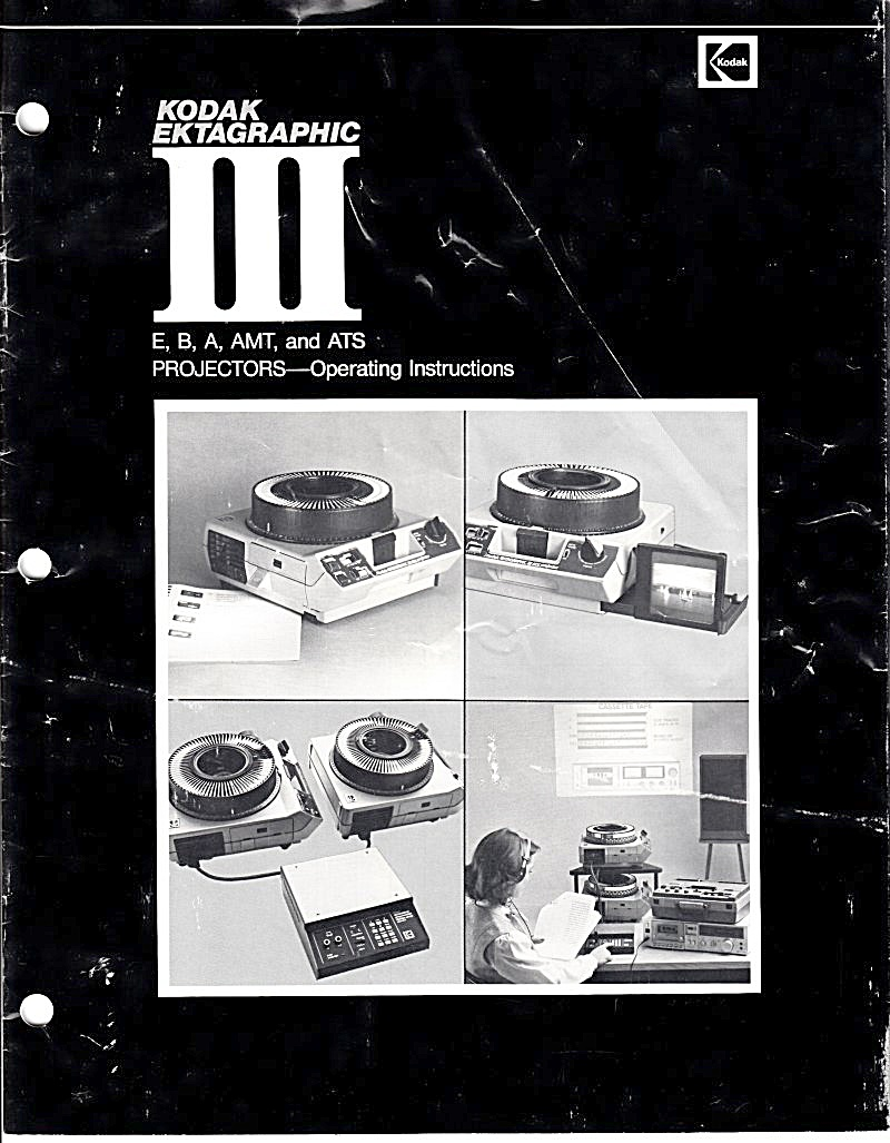Ektagraphic Iii E,b,a,amt & Ats - Downloadable E-manual