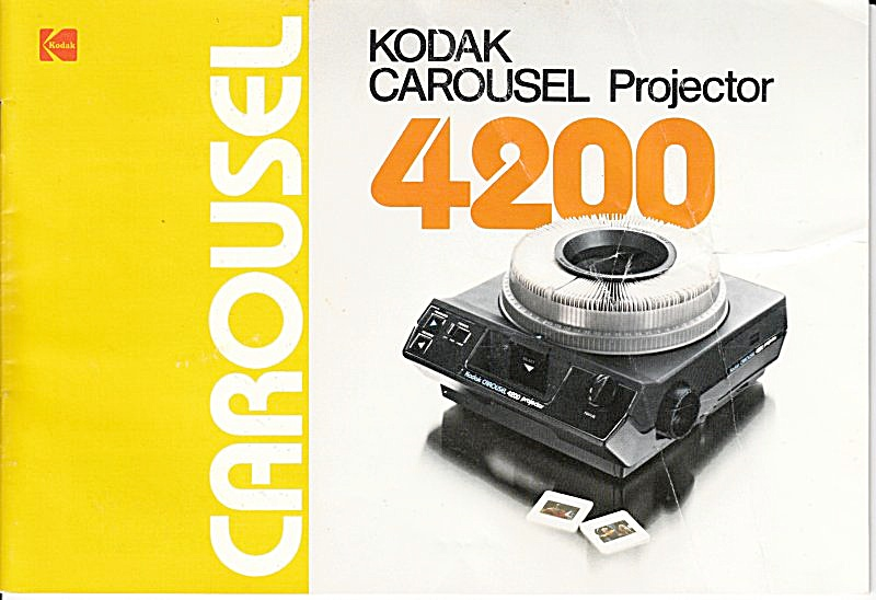 Kodak Carousel 4200 Projector - Downloadable E-manual
