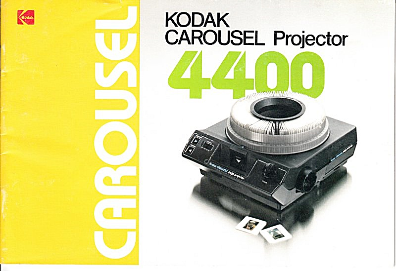Kodak Carousel 4400 Projector - Downloadable E-manual