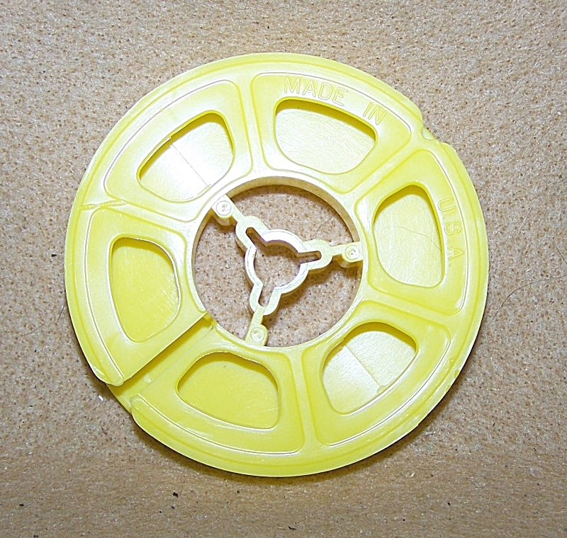 Regular 8mm Plastic 3 Inch Reel 50 Ft.